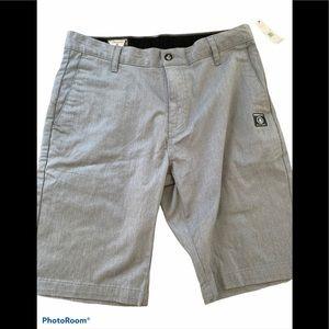 Volcom Monty stretch shorts heather gray 31